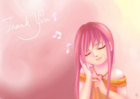 Thank you by ArgentYue
