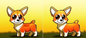 Ichabod Corgi Designs by AylaStarDragon