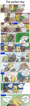 The Angry Beavers comic - The perfect day by CwieChanti