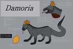 Saliko - Damoria species design by NightShrowd7-17