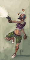 Tank Girl by robiant