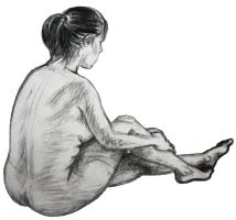 10 min. life drawing by StephieT