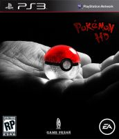 Pokemon HD Game Cover by wazzy88