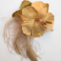 Golden Hibiscus by tracyholcomb