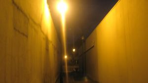 Creepy passage with light by SumYungGa1