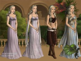 GoT Scene Maker: Daenerys Stormborn by moonprincess22