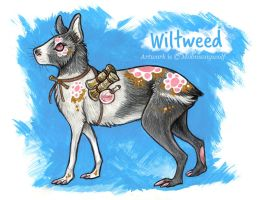 Wiltweed - Character Reference by MoonsongWolf