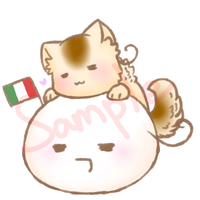 Neko and mochi Season 2 - Italy by Saya-Alphaling