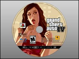 GTA IV Disc Design - Take 2 by SlimTrashman