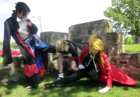 Ninja Vs Alchemist Vs Meister [Edward Elric] by BlueWingXIII