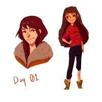 Day 01 - Me by Mourphine