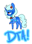 [CLOSED] DTA Pony Adopt [Watchers Only] by EventidePonies