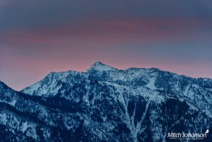 Sunrise Wasatch Morning by mjohanson