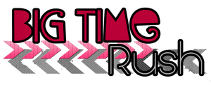 Texto PNG 'Big Time Rush' by CrayolaWasHere