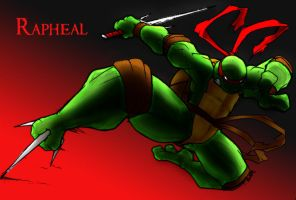 Raph by ShoNuff44 CLRS me by Blucaracal