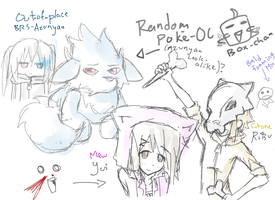 Random k-on crossovers doodles 8D by jaja-sick-bear