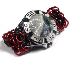 Chainmaille Watch Band by Jennifer-EA