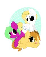 Pony Pile!!! by kalie0216