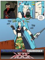 Endzone 1 v. Shadowboxxer p2 by AyameExGoddess
