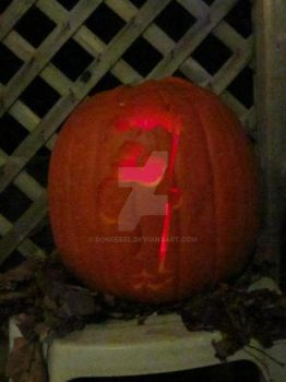 Ferb Pumpkin by RonRebel