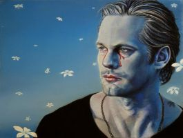 Frailty in Blue: Eric Northman by MohaniRose