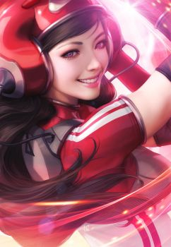Pepper Spin by Artgerm