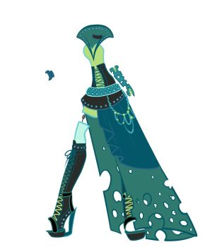 Queen Chrysalis outfit by Purrsephone12