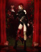 Queen of Hearts by RavenMoonDesigns
