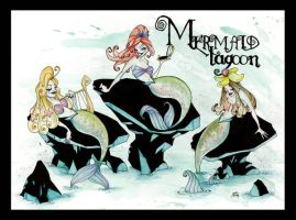 Mermaid Lagoon by Batcroz