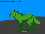 Pebble of the pack of earth by catunicorn5841