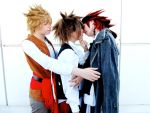 Axel x Sora x Roxas pirates by MischievousBoyAilime