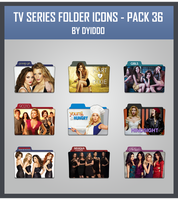 TV Series Folder Icons - Pack 36 by DYIDDO