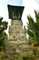 Bali - Architecture - Tower by melwhy