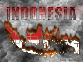 indonesian map by andirachmat