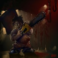 "SPEED PAINT ""LIL' LEATHERFACE"" by Grimbro"