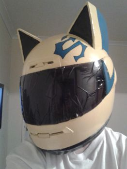 Celty Helmet - Final result by AlyXWheatley4Ever