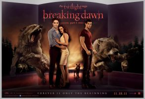 Breaking Dawn theatre poster by Allie06