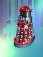 Red Movie Dalek by Harnois75