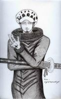 Trafalgar D. Water Law - Surgeon of Death by AngelofHopeandLight