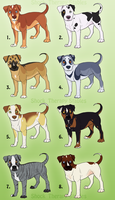 Pitbull Adoptables - CLOSED by ShockTherapyStables