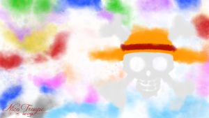 Waterpaint One Piece by TrouperDNico