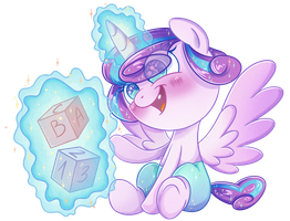 Princess Flurry Heart by PatchNpaw