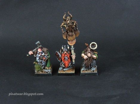 Dwarf Ironshields Command Group by KorNat