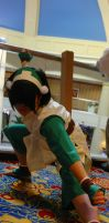 Toph Bei Fong Fight Stance - AUSA '12 by Wingedisis16