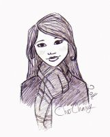 Cho Chang by ShunSanne