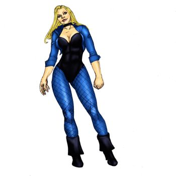 black canary colors by carol by Selkirk