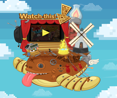 floating stream engine video player by lingcon