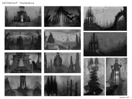 Environment thumbnails by Marina13m