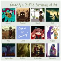 2013 Art Summary by Timidemerald