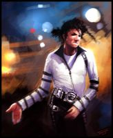 Michael Jackson by dominuself